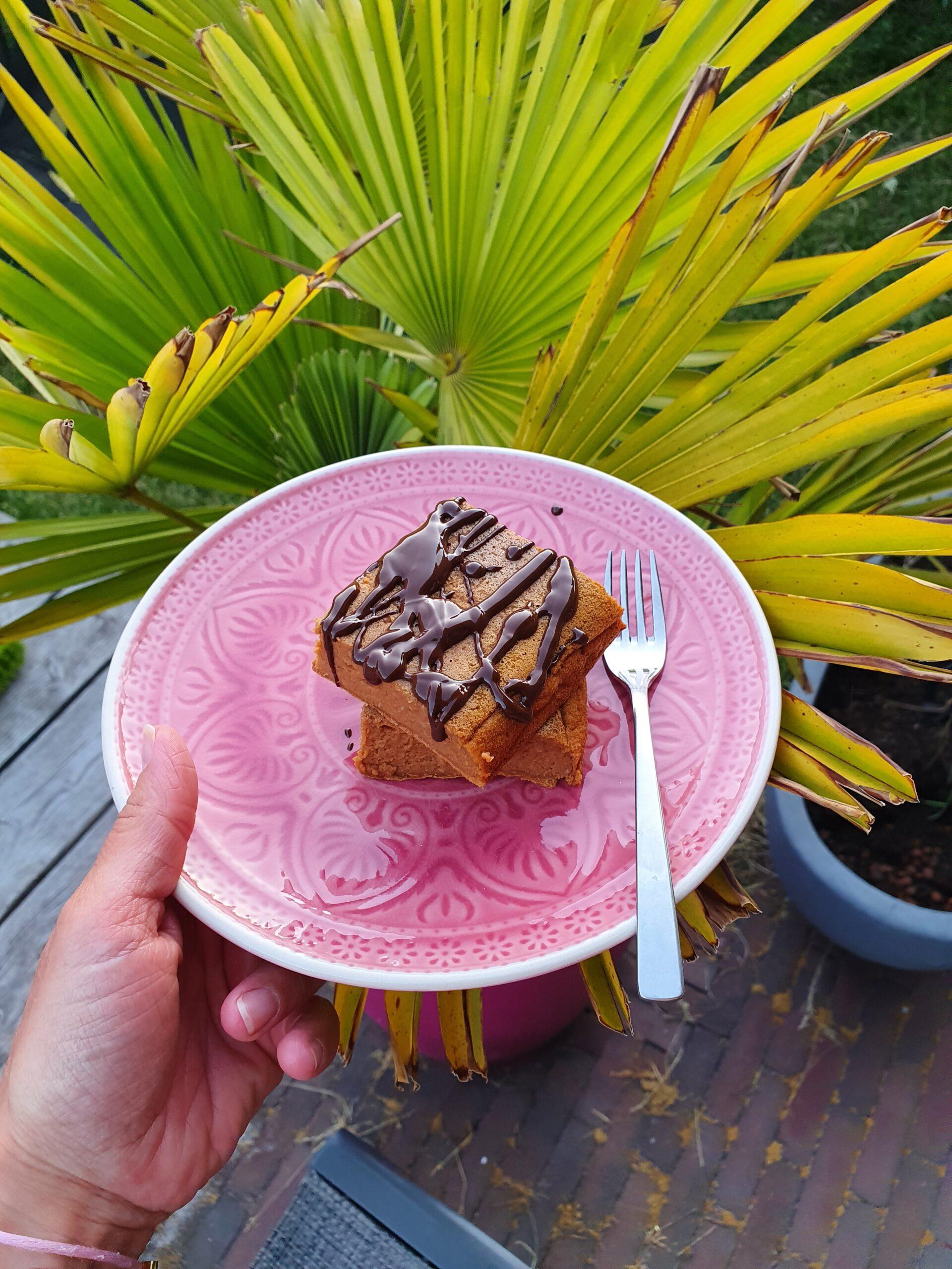 eiwitrijke chocolade brownie