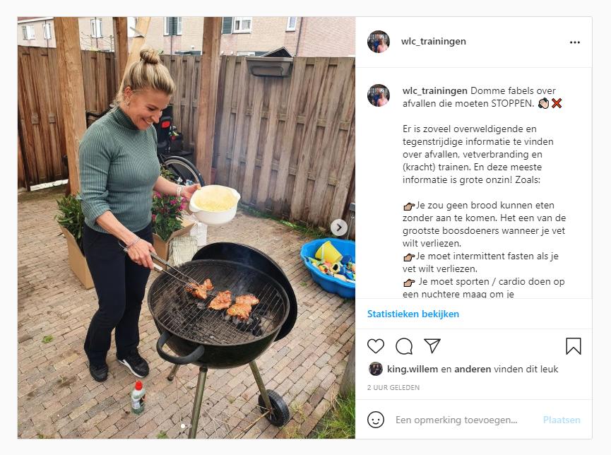 Fabels over vetverbranding instagram wlc traininigen mijdrecht